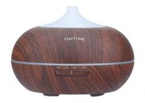 GerTong Wood Grain Ultrasonic Essential Oil Diffuser