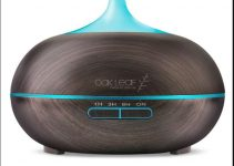 Oak Leaf Ultrasonic Aromatherapy Humidifier with Diffuser