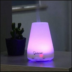 Qedertek 100 ml Ultrasonic Portable Essential Oil Diffuser